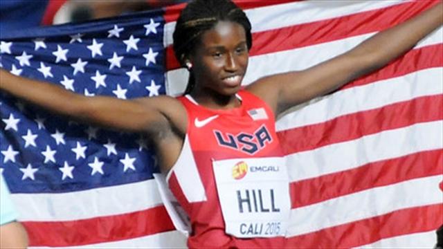Estados Unidos, campeón del Mundial de Atletismo Juvenil en Cali
