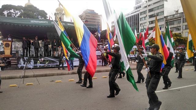 Desfile militar del 20 de julio se realiza en tunja y for Jardines 20 de julio bogota