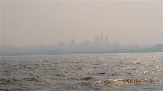 Barranquilla volvió a respirar humo proveniente de Isla Salamanca