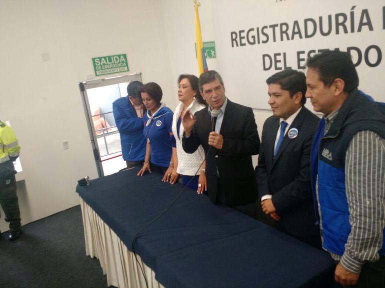 Rafael Pardo, candidato a la Alcaldía de Bogotá por el Partido Liberal