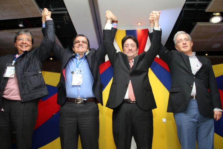 Francisco Santos, candidato a la Alcaldía de Bogotá por el Centro Democrático