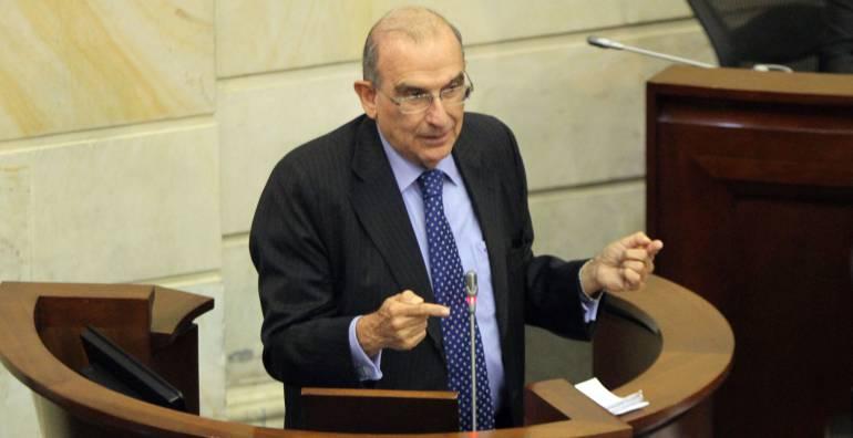 Jefe del equipo negociador del Gobierno con las Farc