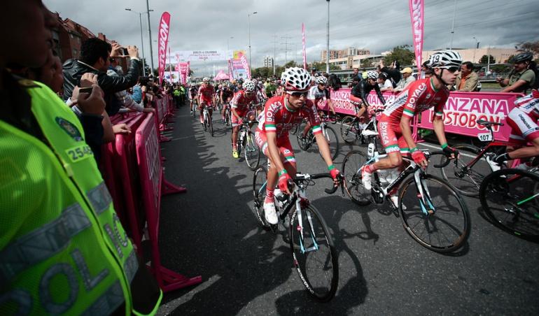 Wilmer Rodríguez se impuso en la segunda etapa de la Vuelta a Colombia