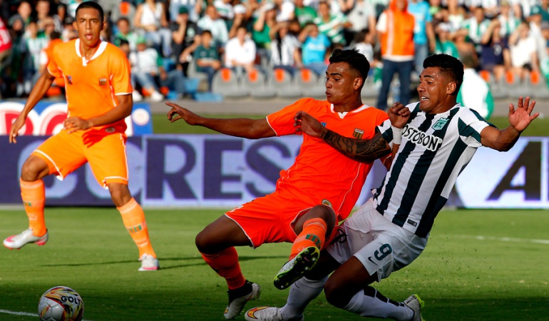 Jefferson Duque anotó el gol de la victoria de Nacional sobre Envigado