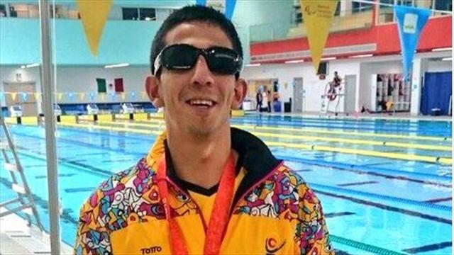 Brayan Urbano gana medalla de oro en los Juegos Parapanamericanos