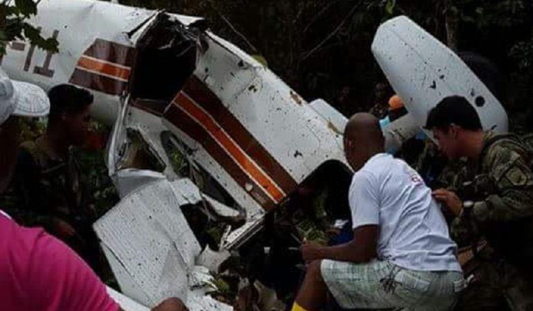 Avión accidentado en Chocó fue robado en Costa Rica