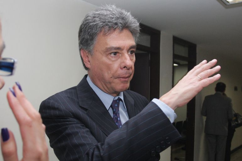 Exdirector de la Dirección Nacional de Estupefacientes, Carlos Albornoz.