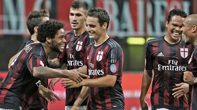 Honda y Luiz Adriano conducen al Milan al triunfo en la Copa Italia