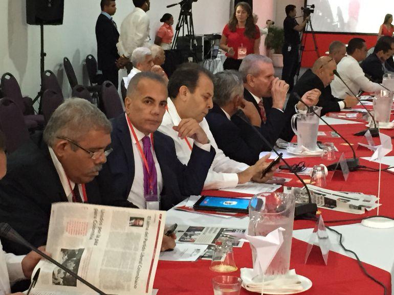 Oposición venezolana expresó desde Cartagena apoyo a Santos