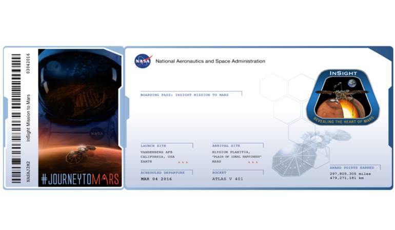 Nasa permite que las personas envíen su nombre a Marte