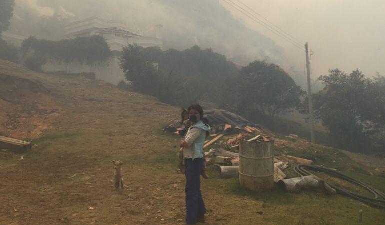 Incendio en Villa de Leyva