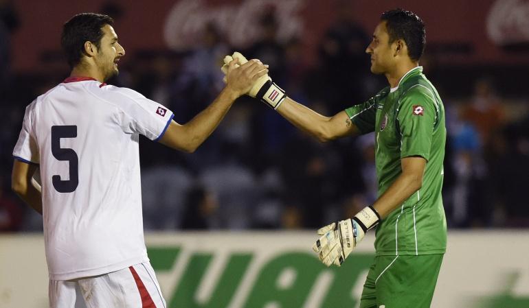 Keylor Navas no jugará los amistosos de Costa Rica ante Brasil y Uruguay
