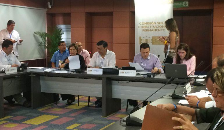 Comisión sexta de Senado sesionó sobre las TIC en Cartagena