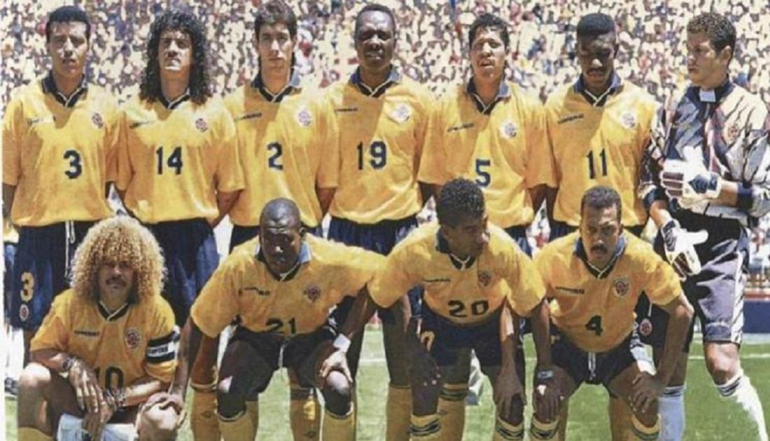 La Selección Colombia de 1994