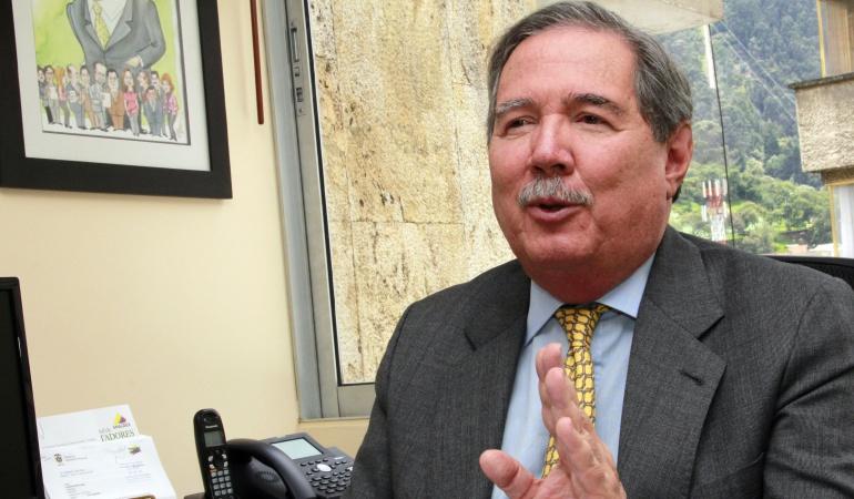 Presidente de la Federación Nacional de Comerciantes (Fenalco), Guillermo Botero