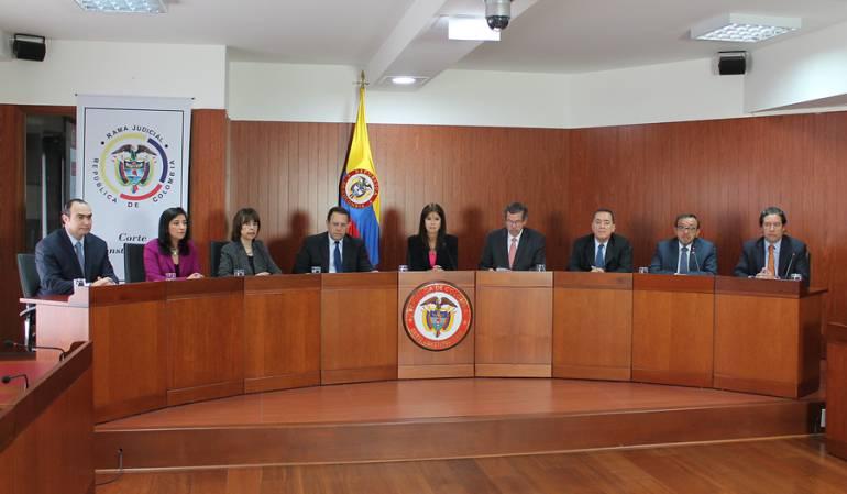 Reforma Equilibrio de Poderes Corte Constitucional: Gobierno pide a Corte no pronunciarse de fondo sobre equilibrio de poderes