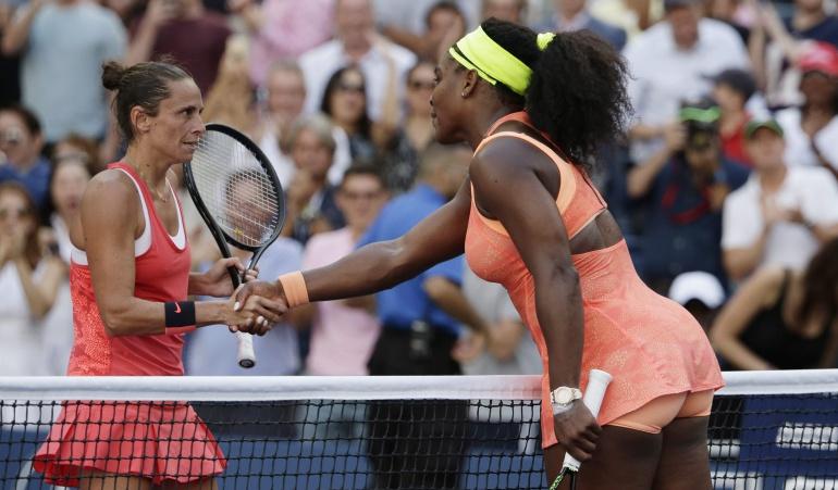 Vinci elimina a Serena y jugará la final contra su compatriota Pennetta