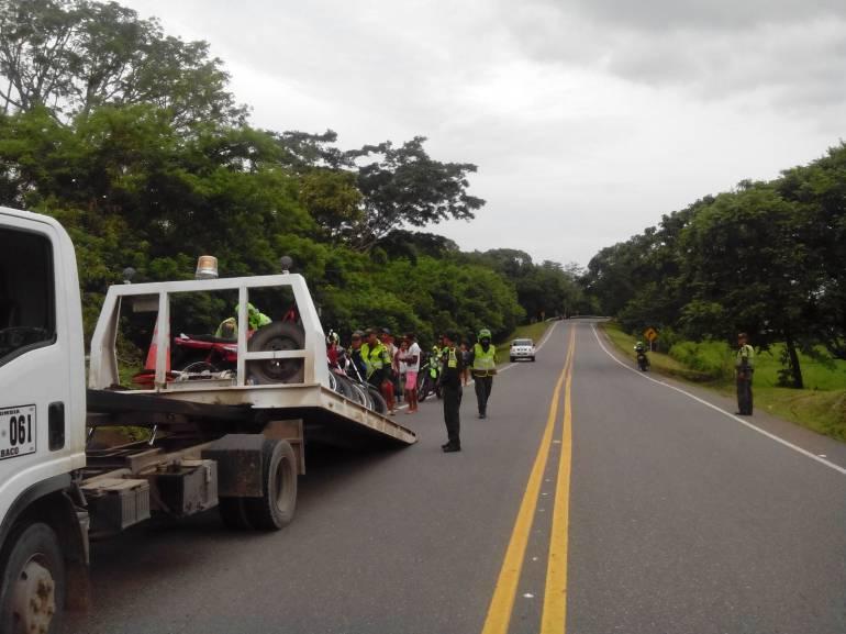 Operativos al Norte de Bolívar dejan 21 motocicletas inmovilizadas