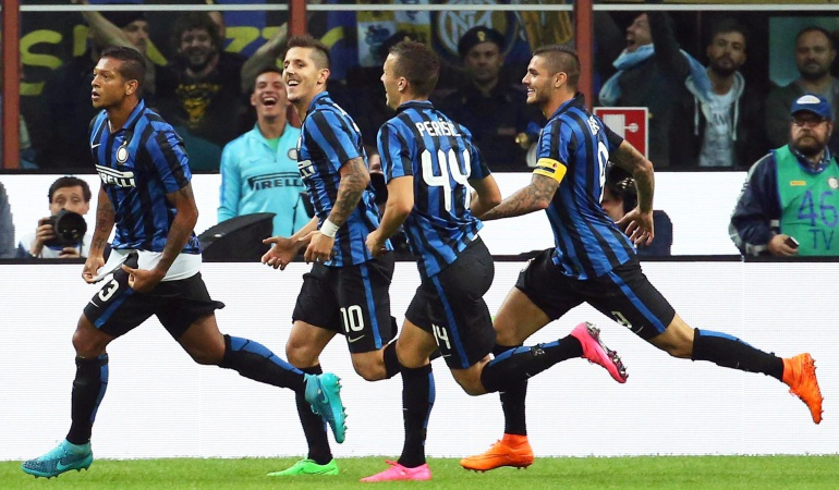 Un gol de Fredy Guarin resuelve para el Inter el derbi milanés