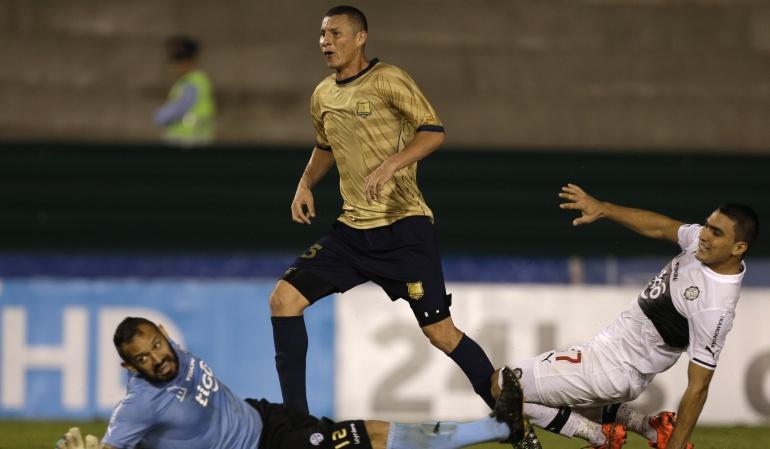 Águilas buscará su paso a octavos de final de la Sudamericana ante Olimpia