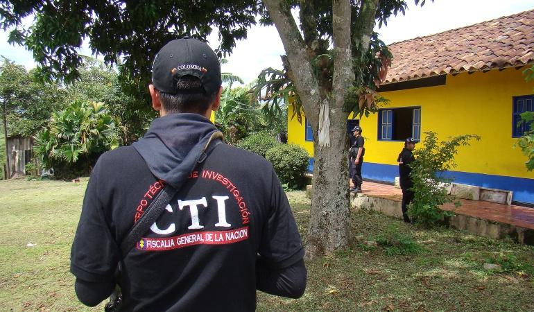 El Cuerpo Técnico de Investigación (CTI). Foto: archivo