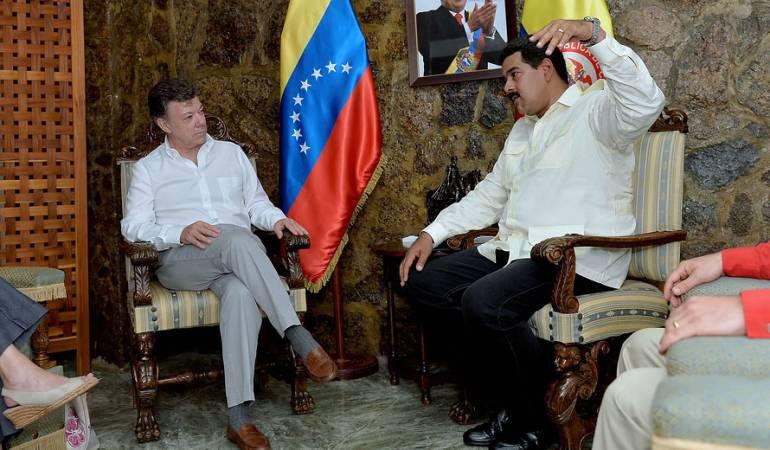 Reunión Santos Maduro crisis frontera Colombia Venezuela: Reunión Santos – Maduro no es una cumbre bilateral pero es un primer paso
