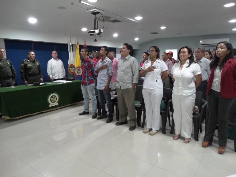 Policía en Bolívar realizó sensibilización a candidatos sobre Seguridad