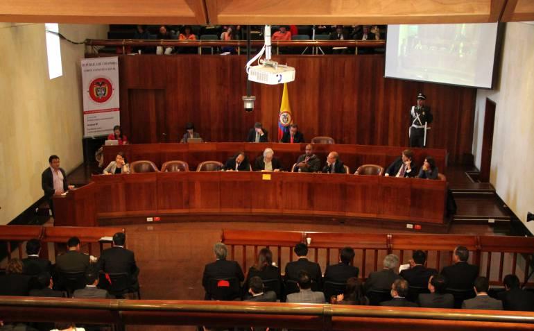 Equilibrio de poderes Corte Constitucional: Ponencia en la Corte salva reforma de equilibro de poderes