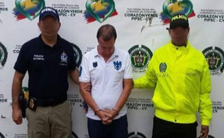 John Jairo Hincapié Ramírez capturado por la Interpol