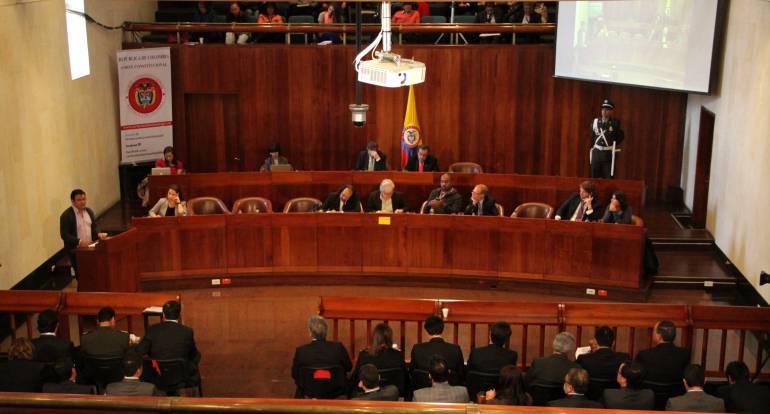Corte Constitucional Equilibrio de poderes: Esta semana inicia debate de ponencia que salva equilibro de poderes