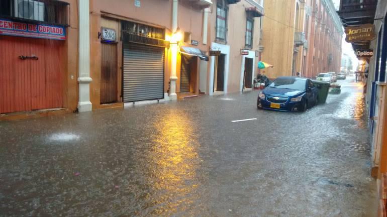 Tormenta eléctrica en Cartagena causó varias emergencias