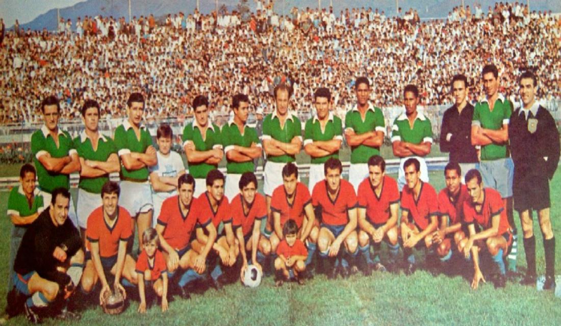 Atlético Nacional, Independiente Medellín, clásico, El Pulso del fútbol, doctor Peláez: Clásico Medellín - Nacional de 1965
