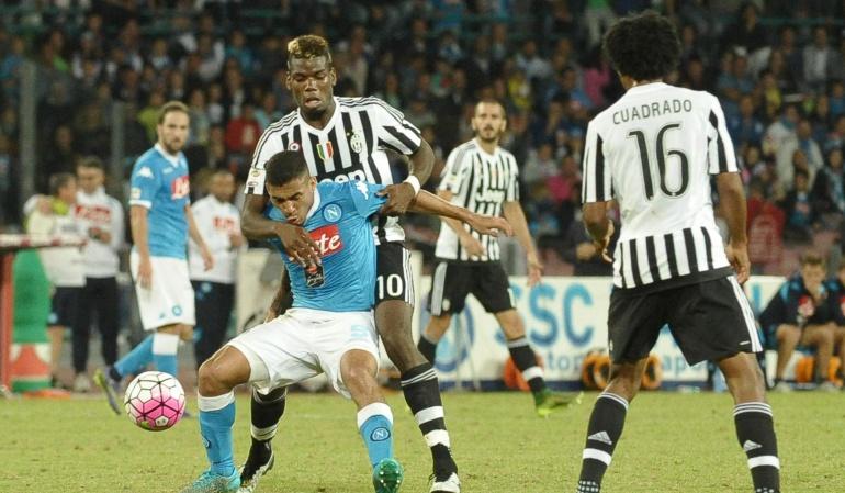 Juventus con Cuadrado cae ante Nápoles e Higuaín se reivindica