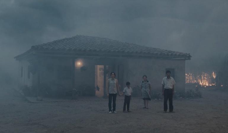 """Parte del largometraje """"La tierra y la sombra""""."""