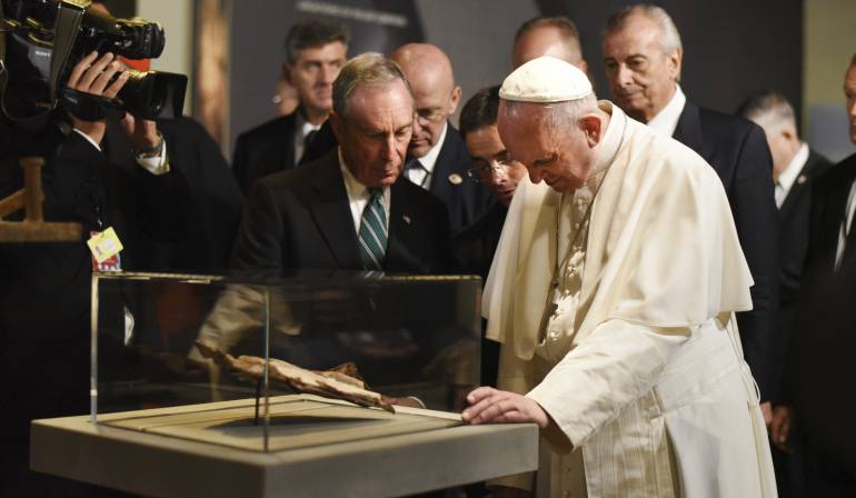 El papa Francisco durante su visita a los Estados Unidos