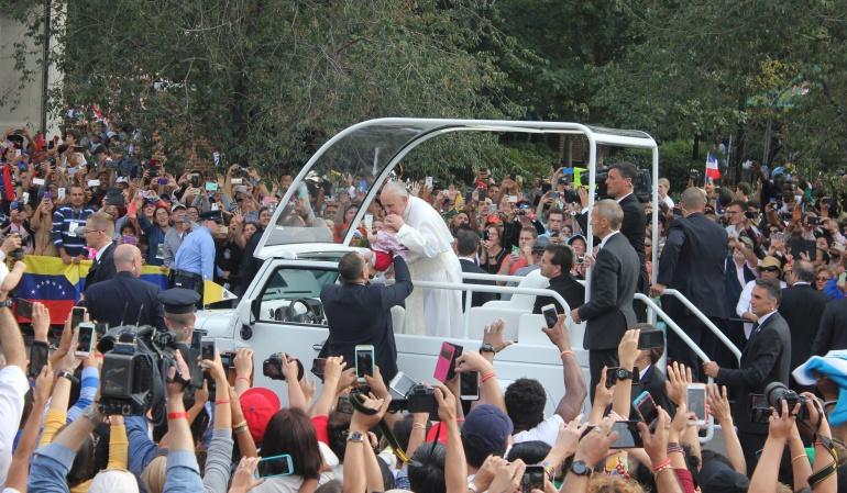 Papa Francisco hace un llamado a la unión familiar entorno al amor y la fe