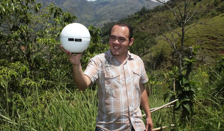 Colombiano transforma el aire en agua actualidad - Quitar humedad del ambiente ...