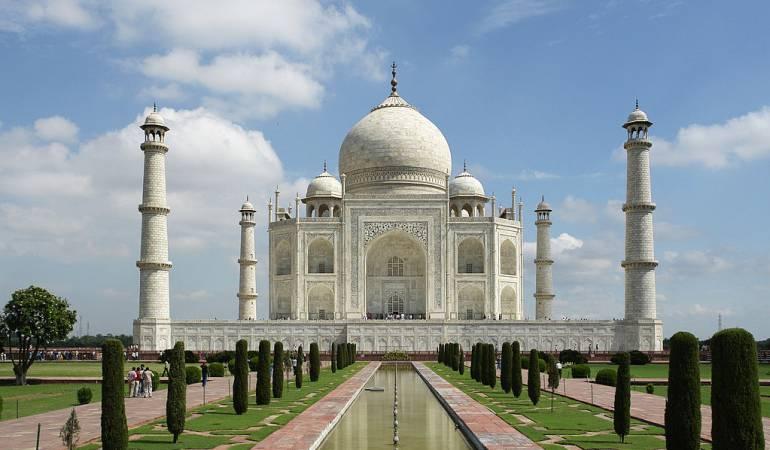 El Taj Mahal.