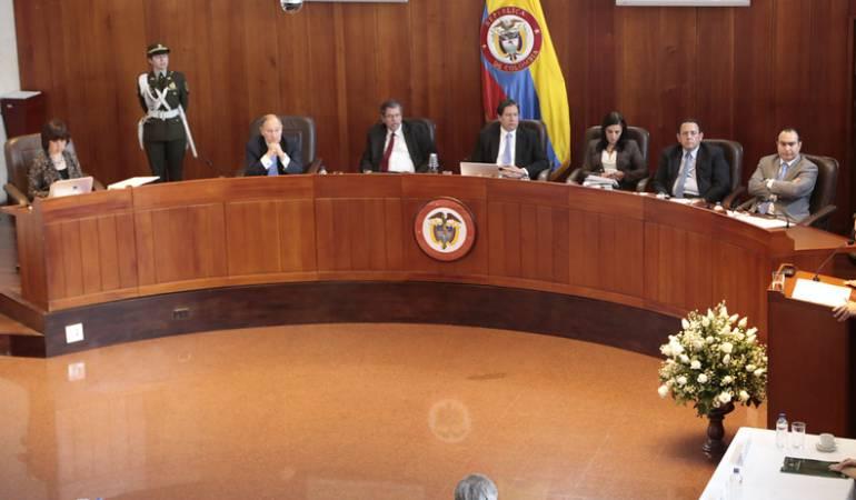 Corte Constitucional debatirá demanda de reforma de equilibrio de poderes