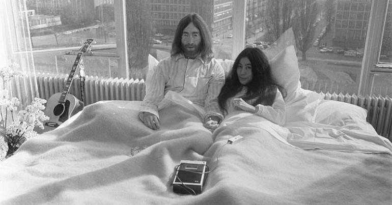Lennon y Yoko Ono.