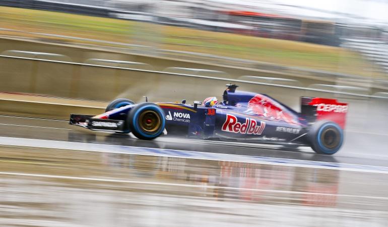 Fórmula 1 premio de austin lluvia: Suspendida por fuerte lluvia la calificación al Premio de Austin