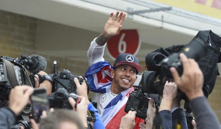 """""""Mi objetivo era lograr los tres títulos de Ayrton """": Lewis Hamilton"""