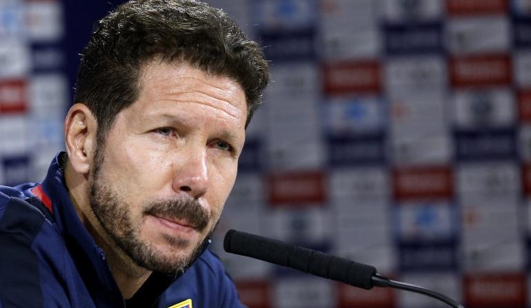 """Atlético realizó el mejor partido de los últimos tiempos"""": Simeone"""