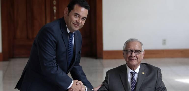 Inicia el proceso de transmisión de mando presidencial en Guatemala