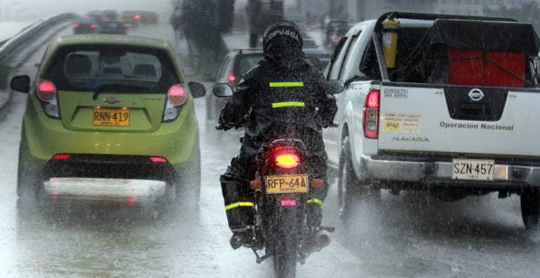 Hasta el próximo miércoles se presentarán lluvias en el país: Ideam