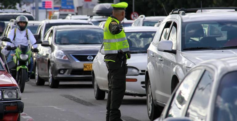 Sin contratiempos avanzó plan retorno: Policía Tránsito