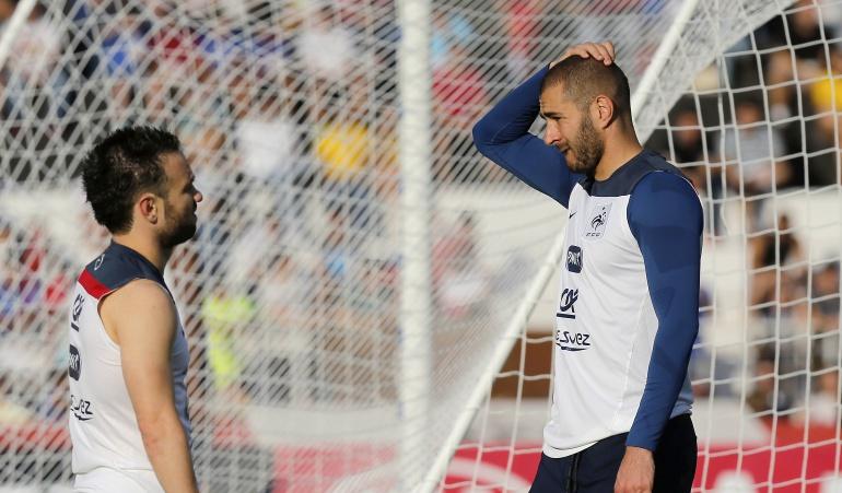 Benzema y Valbuena, ausentes en la convocatoria de la Selección de Francia