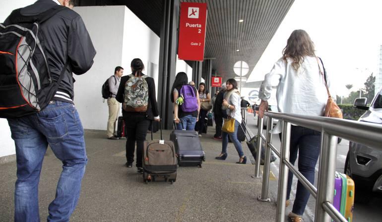 Colombia mantiene crecimiento del transporte aéreo