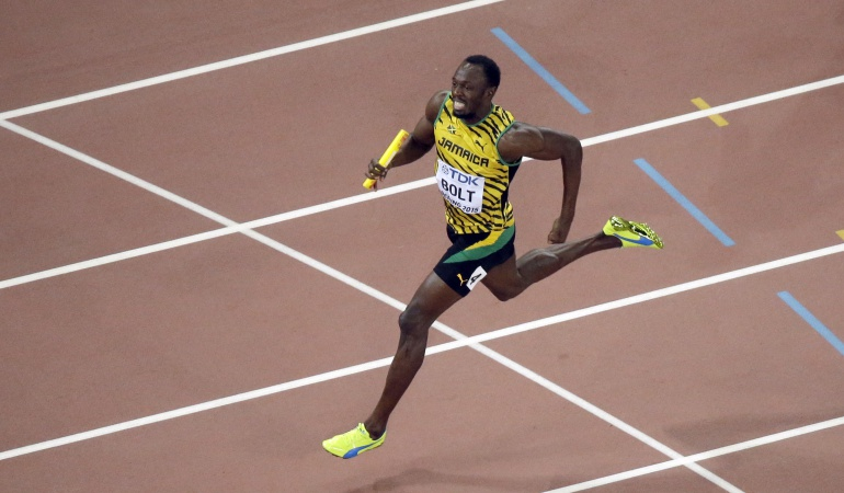 Bolt, Ashton Eaton y Christian Taylor, aspirantes a mejor atleta de 2015