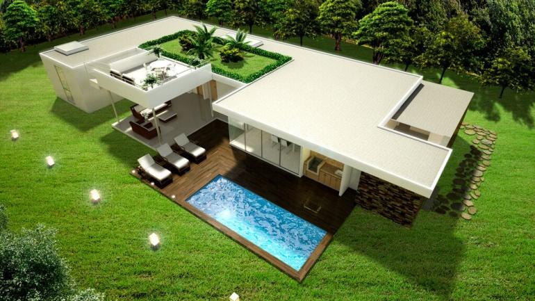 Casas de verano r cocinas ventajas de comprar casa de madera para el verano comprar casas de - Casa de verano con piscina ...